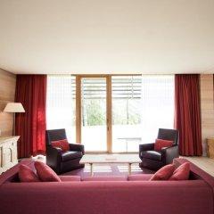 Отель Vigilius Mountain Resort Италия, Лана - отзывы, цены и фото номеров - забронировать отель Vigilius Mountain Resort онлайн комната для гостей фото 3