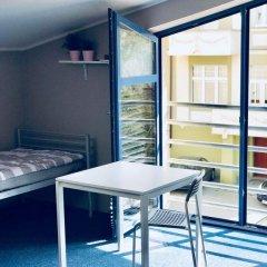 Отель Stacja Plaża Кровать в общем номере с двухъярусной кроватью фото 8