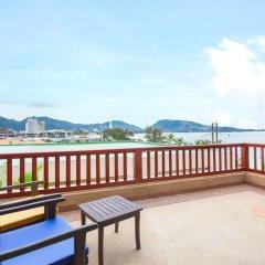 Отель Novotel Phuket Resort 4* Улучшенный номер с двуспальной кроватью фото 12