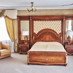 Гостиница Золотое Кольцо Кострома Люкс с двуспальной кроватью фото 13