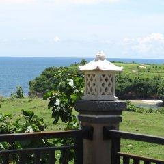 Отель Balangan Sea View Bungalow балкон