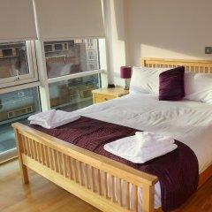 Отель Glasgow Lofts Апартаменты с 2 отдельными кроватями