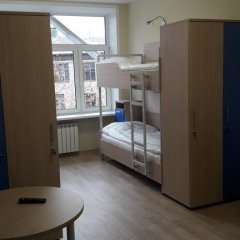 Хостел Останкино Кровать в женском общем номере с двухъярусными кроватями фото 8
