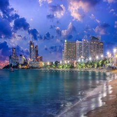 Arya Inn Pattaya Beach Hotel пляж фото 2