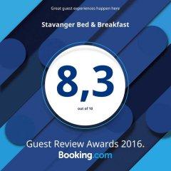 Отель Stavanger Bed & Breakfast питание