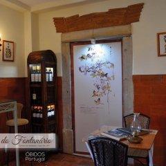 Отель Casa do Fontanário de Óbidos - Turismo de Habitação питание фото 2