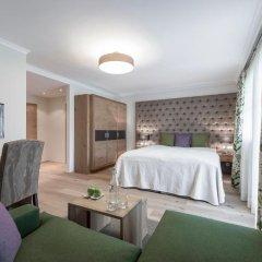 Отель Das Central – Alpine . Luxury . Life 5* Улучшенный номер с различными типами кроватей фото 6