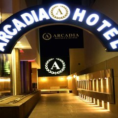 Arcadia Hotel Apartments гостиничный бар