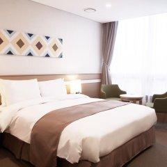 Tmark Hotel Myeongdong 3* Номер Делюкс с различными типами кроватей фото 5