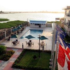 Protea Hotel Kuramo Waters Лагос бассейн фото 2