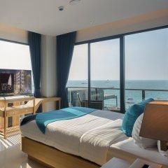 Отель Deep Blue Z10 Pattaya Стандартный номер с различными типами кроватей фото 13