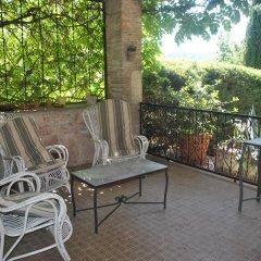 Отель Villa Le Casaline Сполето балкон