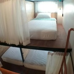 Sleep Owl Hostel Кровать в общем номере с двухъярусной кроватью