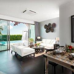 Отель The 8 Pool Villa 3* Вилла с различными типами кроватей фото 13