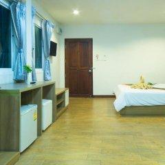 Отель Sea Breeze Jomtien Residence 3* Улучшенный номер с различными типами кроватей фото 6