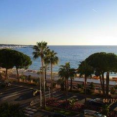 Отель Cannes Croisette Carlton пляж