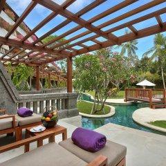 Nusa Dua Beach Hotel & Spa 4* Номер Премьер с двуспальной кроватью фото 4