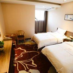 Отель Insail Hotels Railway Station Guangzhou 3* Номер Делюкс с двуспальной кроватью фото 11