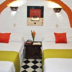 Hotel Hacienda de Vallarta Centro 3* Стандартный номер с различными типами кроватей фото 8