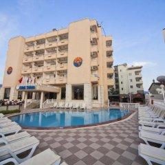 Selen Hotel Турция, Мугла - отзывы, цены и фото номеров - забронировать отель Selen Hotel онлайн бассейн фото 2