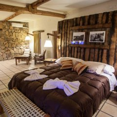 Отель Cabañas Y Suites Villa Bonita Вейнтисинко де Майо комната для гостей фото 4