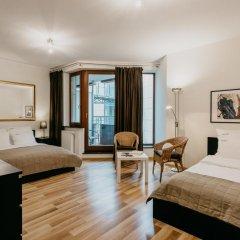 Отель EXCLUSIVE Aparthotel Улучшенные апартаменты с различными типами кроватей фото 4