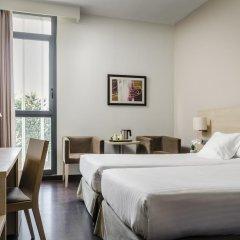 Отель Exe Barcelona Gate 3* Стандартный номер с различными типами кроватей фото 4