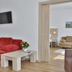Отель Das Falk Apartmenthaus Германия, Нюрнберг - отзывы, цены и фото номеров - забронировать отель Das Falk Apartmenthaus онлайн комната для гостей фото 5