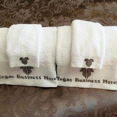 Отель Zhongshan Tegao Business Hotel Китай, Чжуншань - отзывы, цены и фото номеров - забронировать отель Zhongshan Tegao Business Hotel онлайн ванная фото 2