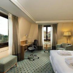Отель Hilton Dresden 4* Стандартный номер с различными типами кроватей