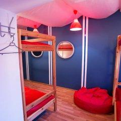 Хостел Фрегат Кровать в общем номере с двухъярусной кроватью фото 7