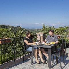 Residence Hotel Le Fontanelle Монтескудаио балкон