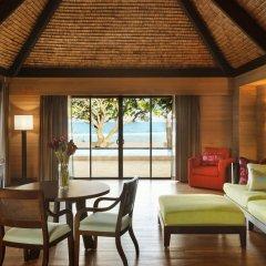 Отель The St Regis Bora Bora Resort 5* Вилла Reefside garden с различными типами кроватей