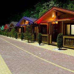 Гостиница Золотая бухта Бунгало с различными типами кроватей фото 20