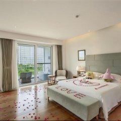 Отель Mingshen Golf & Bay Resort Sanya 4* Стандартный номер с различными типами кроватей фото 5
