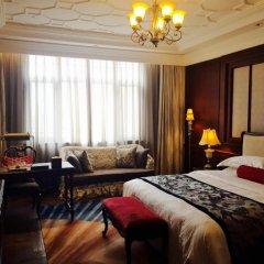 Shanghai Donghu Hotel 4* Улучшенный номер двуспальная кровать