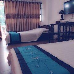 Thien Trang Hotel Номер Делюкс с различными типами кроватей фото 7