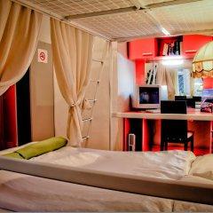 Hostel Budapest Center Стандартный номер с двуспальной кроватью фото 9