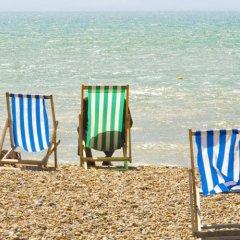 Отель Sea Salt Studio Великобритания, Кемптаун - отзывы, цены и фото номеров - забронировать отель Sea Salt Studio онлайн пляж