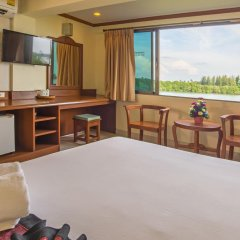 Krabi City Seaview Hotel 2* Номер Делюкс с различными типами кроватей фото 3