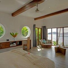 Отель The Remote Resort, Fiji Islands 4* Вилла Делюкс с различными типами кроватей фото 11