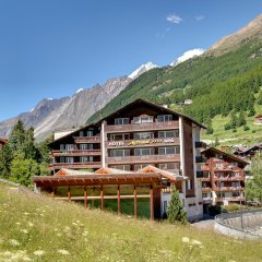 Отель Metropol & Spa Zermatt Швейцария, Церматт - отзывы, цены и фото номеров - забронировать отель Metropol & Spa Zermatt онлайн приотельная территория