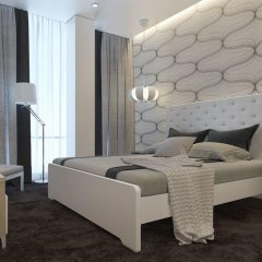 Гостиница Альва Донна Улучшенный люкс с различными типами кроватей фото 4