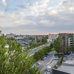 Апартаменты Sky Studio Near The Vilnius Center Вильнюс балкон