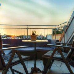 Отель Penthouse Suite Gasteig Мюнхен балкон