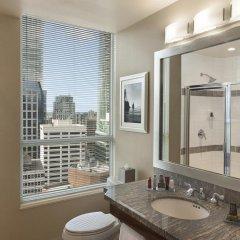 Отель Vancouver Marriott Pinnacle Downtown 4* Стандартный номер с различными типами кроватей фото 5