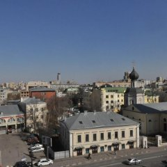 Апартаменты Four Squares Apartments Polyanka Студия фото 11