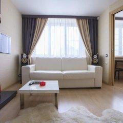 Апартаменты Grandvill Apartments on Karla Marksa Мурманск комната для гостей фото 3