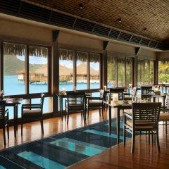 Отель The St Regis Bora Bora Resort питание