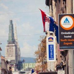 Youth Hostel Zagreb Кровать в женском общем номере с двухъярусной кроватью